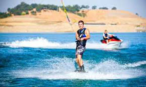 Water sports on Blue Ridge Mountain Lakes